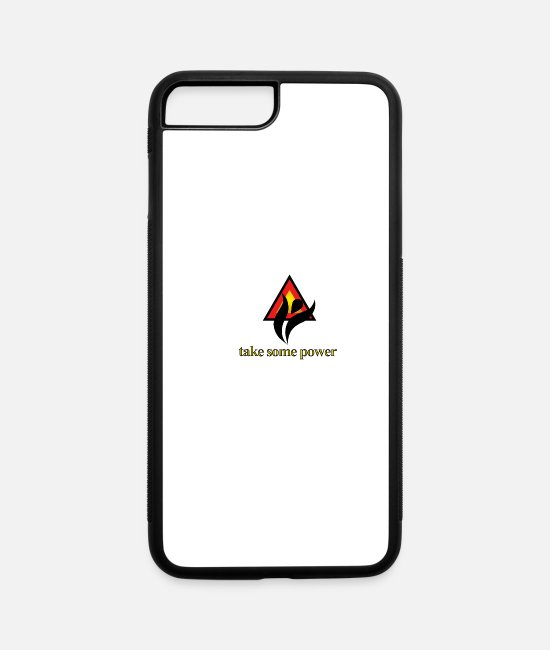 Take-Away iPhone Cases - Take Some Power - iPhone 7 & 8 Plus Case white/black