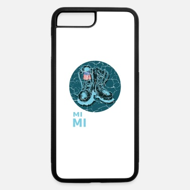 America Military Michigan Boy Soldier or Army Gift - iPhone 7 & 8 Plus Case