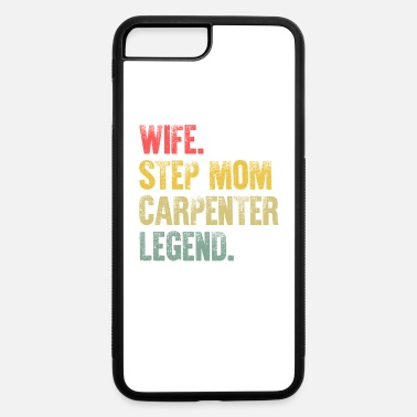 Best Mother Women Funny Gift T Shirt Wife Step - iPhone 7 & 8 Plus Case