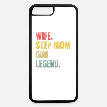 Mr And Mrs Best Mother Women Funny Gift T Shirt Wife Step - iPhone 7 & 8 Plus Case