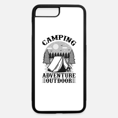Element Camping Adventure Outdoor bw - iPhone 7 & 8 Plus Case