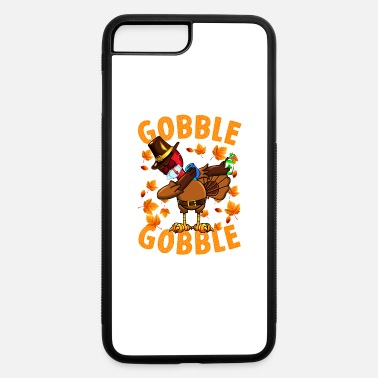Dabbing Turkey with Tissue and Sanitizer - Gobble - iPhone 7 & 8 Plus Case