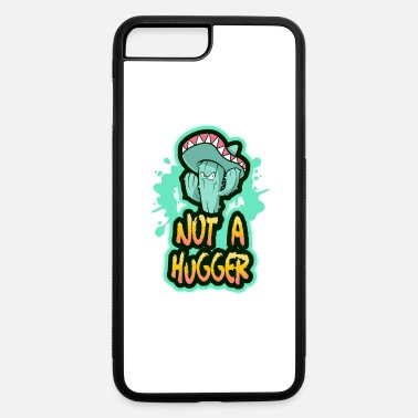 Angry Cactus Not A Hugger Angry Cactus - iPhone 7 & 8 Plus Case