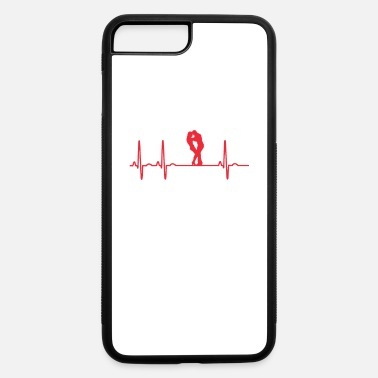 Dance Bachata Sensual Heartbeat Red - iPhone 7 & 8 Plus Case