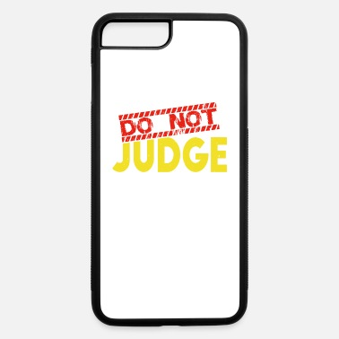 A Heart For Do not judge - iPhone 7 & 8 Plus Case