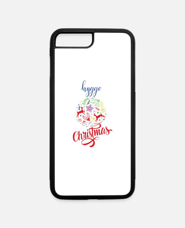 Christmas iPhone Cases - Scandinavian Christmas - iPhone 7 & 8 Plus Case white/black