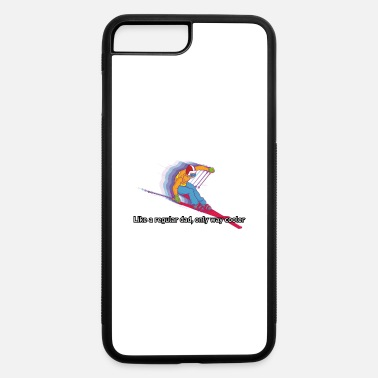 Funny Skiing Quotes Funny Skiing Quote and Apres Ski Gift For a Ski - iPhone 7 & 8 Plus Case