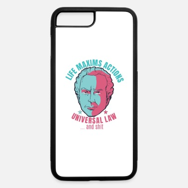 Philosopher KANT PHILOSOPHY FUNNY QUOTE - iPhone 7 & 8 Plus Case