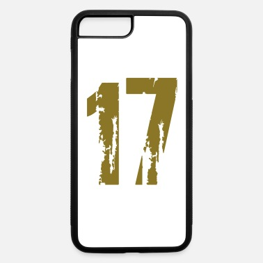 Number 17 17 - Number - iPhone 7 & 8 Plus Case