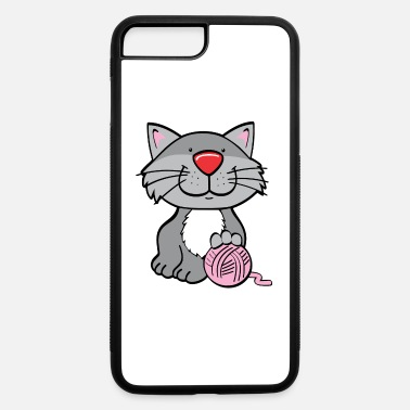 Untruth Cat with yarn - iPhone 7 & 8 Plus Case