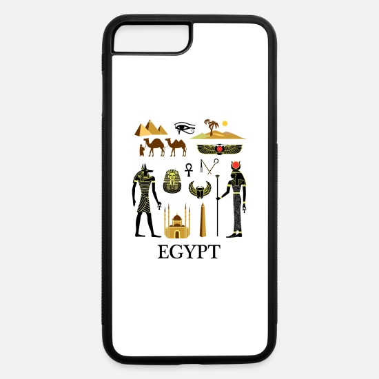 Horus iPhone Cases - Egypt - iPhone 7 & 8 Plus Case white/black