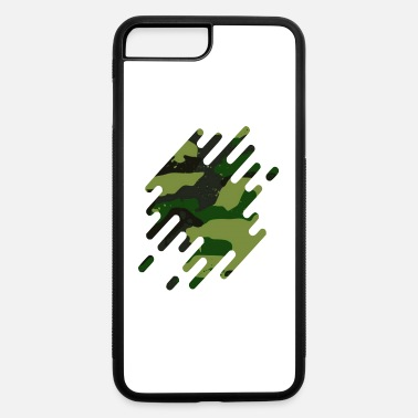 Flecked Fleck Camouflage motif green - iPhone 7 & 8 Plus Case