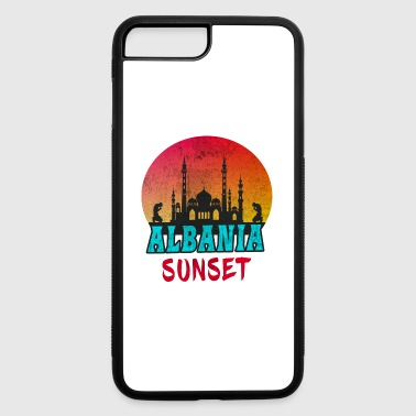 Tirana Albania Sunset Vintage / Gift Kosovo Tirana - iPhone 7 Plus/8 Plus Rubber Case