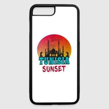 Djerba Tunisia Sunset Vintage / Gift Tunis North Africa - iPhone 7 Plus/8 Plus Rubber Case