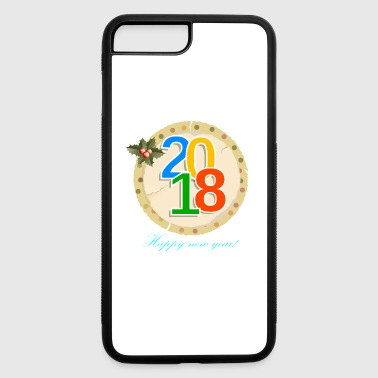 Happy New Year happy New year 2018 - iPhone 7 Plus/8 Plus Rubber Case