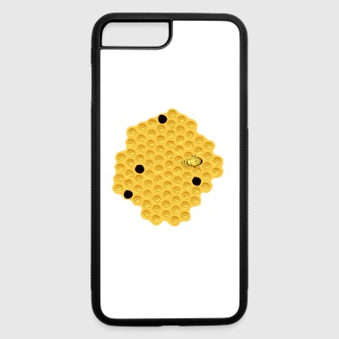 Honeycomb Bee Bumble Gift Present - iPhone 7 Plus/8 Plus Rubber Case