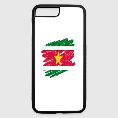 Pinsel Land Heimat Suriname - iPhone 7 Plus/8 Plus Rubber Case