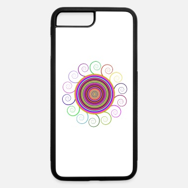 Circular Circular rainbow - iPhone 7 & 8 Plus Case