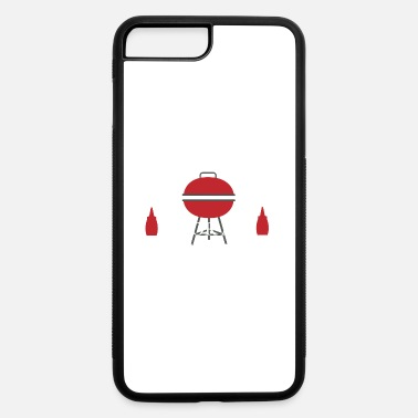 Barbecue sausage meat bbq meat grill gift - iPhone 7 & 8 Plus Case