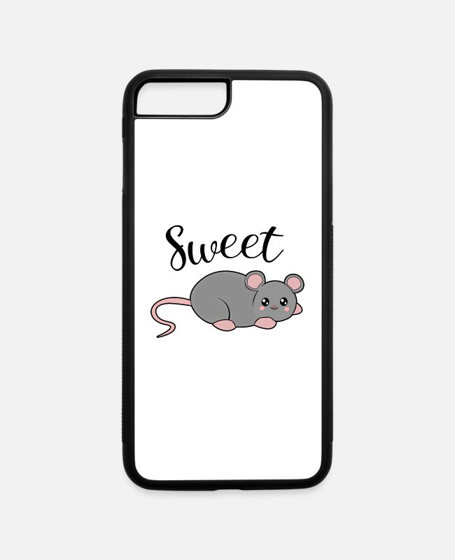 Sweetheart iPhone Cases - Sweet mouse - iPhone 7 & 8 Plus Case white/black
