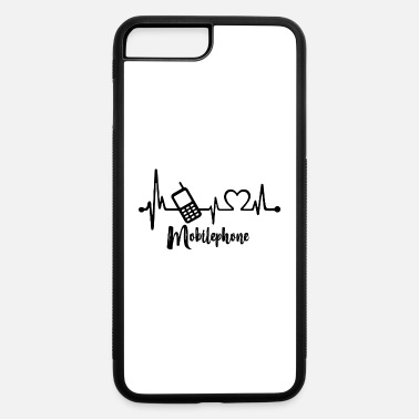 Mobile Phone Mobile phone Heartbeat - iPhone 7 & 8 Plus Case
