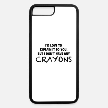 Crayon Crayons - iPhone 7 & 8 Plus Case