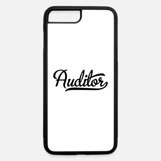 Occupation iPhone Cases - Auditor - iPhone 7 & 8 Plus Case white/black
