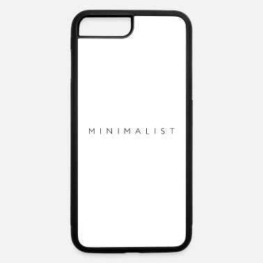 Text minimalist font design - iPhone 7 & 8 Plus Case