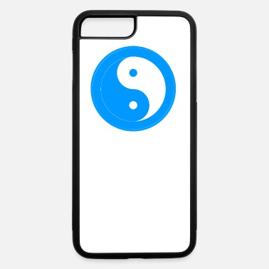 Japan &amp Yin yang blue & white - iPhone 7 & 8 Plus Case