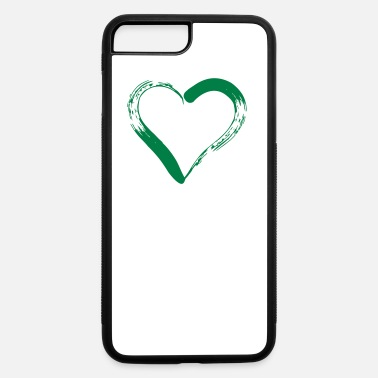 red heart outline - iPhone 7 & 8 Plus Case