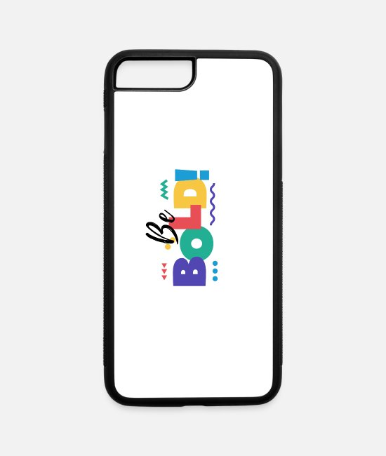 Stand iPhone Cases - BE BOLD - iPhone 7 & 8 Plus Case white/black