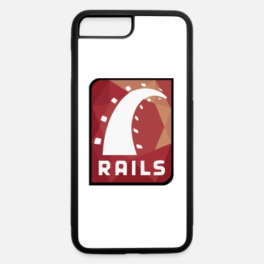 Rails Ruby On Rails Logo - iPhone 7 & 8 Plus Case