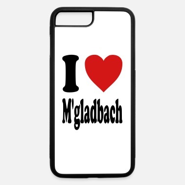 Gladbach I love Moenchengladbach (variable colors!) - iPhone 7 & 8 Plus Case