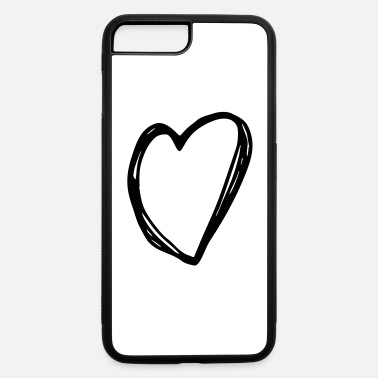 Love Heart Heart - love heart - iPhone 7 & 8 Plus Case