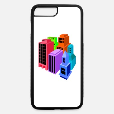 Building buildings - iPhone 7 Plus/8 Plus Rubber Case