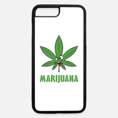 Weed Weed Marijuana Leaf Cannabis Pot Smoke Drugs High - iPhone 7 & 8 Plus Case