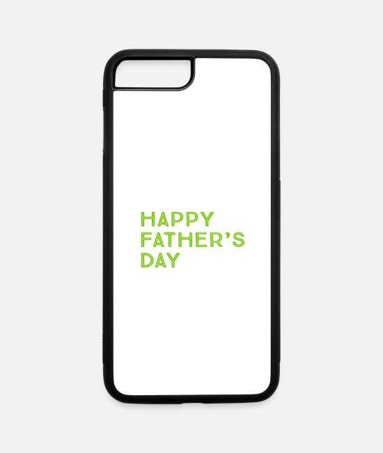 Happy Holidays iPhone Cases - Happy father s Day - iPhone 7 & 8 Plus Case white/black