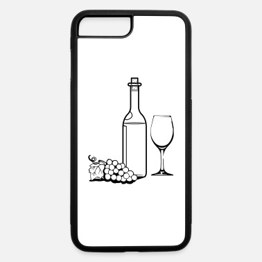 Wine Wine wine bottle red wine - iPhone 7 & 8 Plus Case