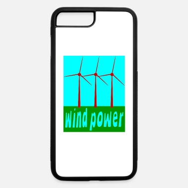 Wind Wind Power With Wind Turbines - iPhone 7 & 8 Plus Case