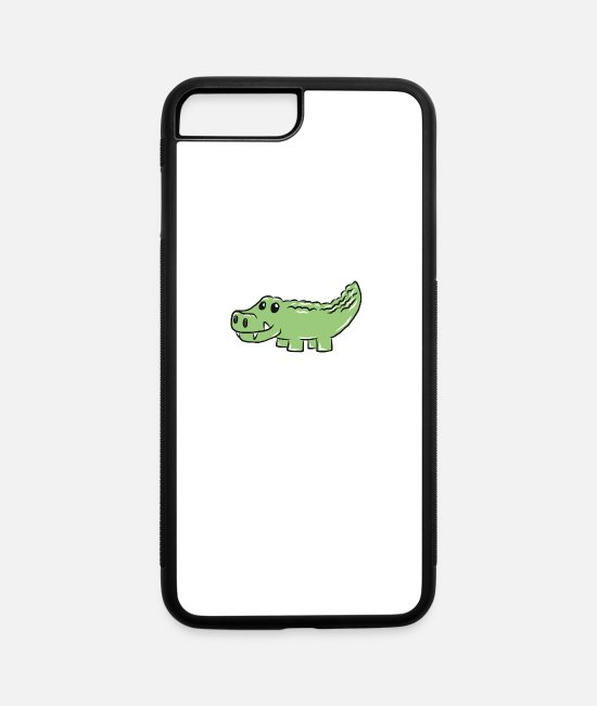Christmas iPhone Cases - Crocodile - iPhone 7 & 8 Plus Case white/black
