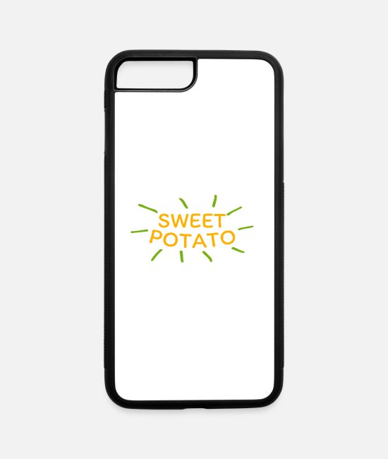 Animal Abuse iPhone Cases - Sweet Potato - iPhone 7 & 8 Plus Case white/black