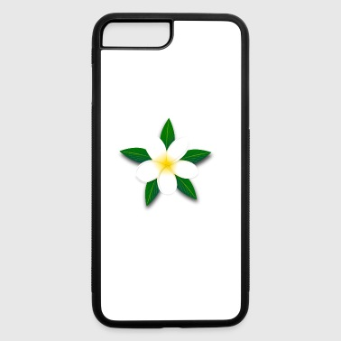 Tropical Island Flower Design - iPhone 7 Plus/8 Plus Rubber Case