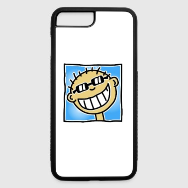 Tourist A Grinning Tourist - iPhone 7 Plus/8 Plus Rubber Case