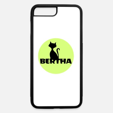Name Day Bertha name first name - iPhone 7 Plus/8 Plus Rubber Case