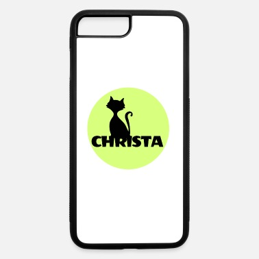 First Name Christa first name - iPhone 7 Plus/8 Plus Rubber Case