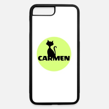 First Name Carmen first name - iPhone 7 Plus/8 Plus Rubber Case
