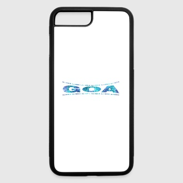 LOVE TECHNO GESCHENK goa pbm GOA dream - iPhone 7 Plus/8 Plus Rubber Case