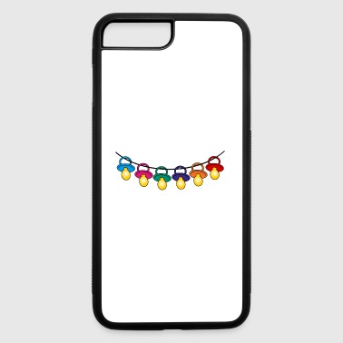 many colorful baby pacifiers / nursery / pacifiers - iPhone 7 Plus/8 Plus Rubber Case