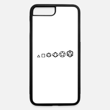 Role Playing Game Evolution Of Role Playing Dice - iPhone 7 & 8 Plus Case