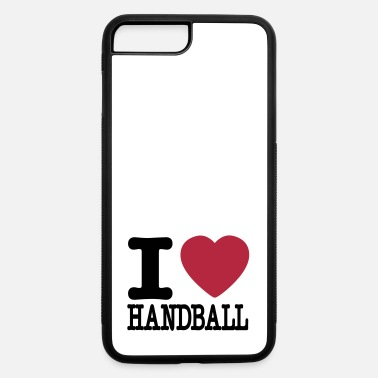 Handball i love handball heart - iPhone 7 & 8 Plus Case